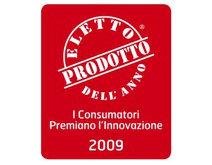 """2009: prodotto dell'anno categoria """"PED Persona"""" in Italia"""